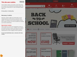 Staples Uk screenshot
