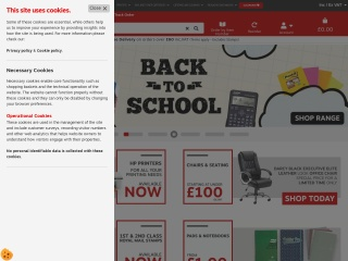 Screenshot for staples.co.uk