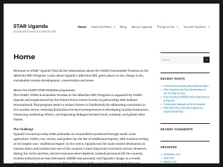 Screenshot for star-uganda.org