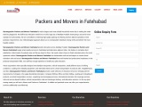 Packers and Movers in Fatehabad @ +91-9992443308, Movers and Packers in Fatehabad