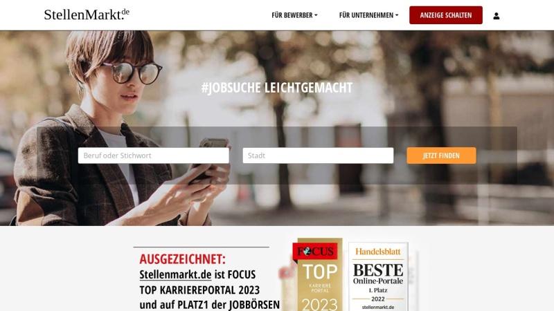 www.stellenmarkt.de Vorschau, AdPartner Stellenmarkt AG