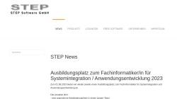 www.step-gmbh.de Vorschau, Step Software GmbH
