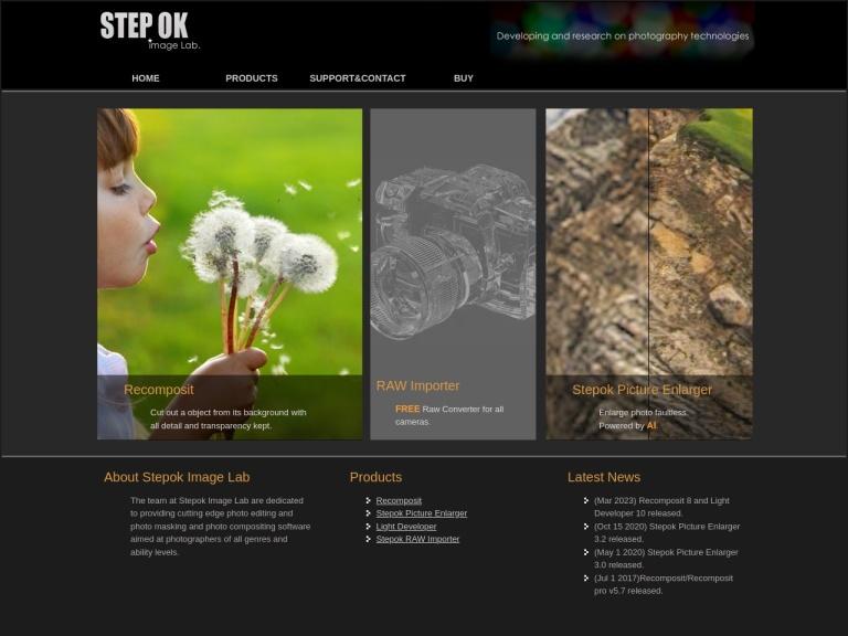 Stepok Image Lab. screenshot