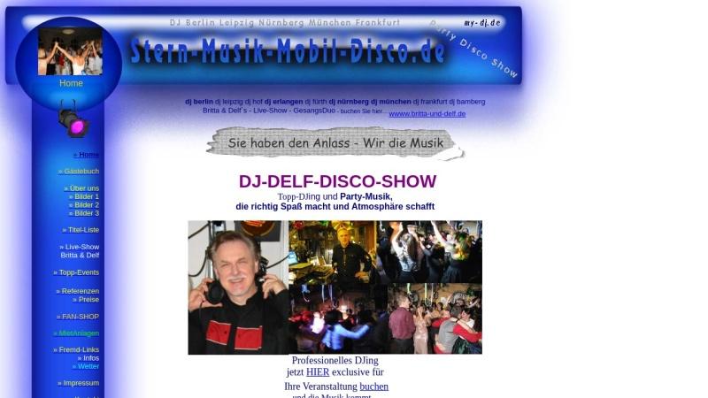 www.stern-musik-mobil-disco.de Vorschau, Stern-Musik-Mobil-Disco