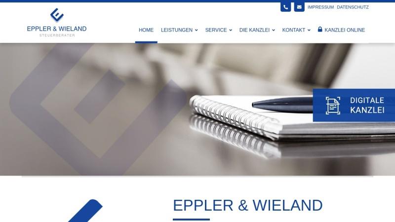www.steuerberater-eppler.de Vorschau, Karl & Rolf Eppler - Steuerberatung