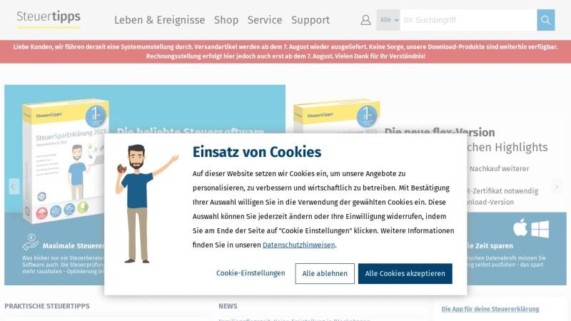 www.steuertipps.de Vorschau, Steuertipps.de