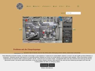 Screenshot der Website steyrfan.at