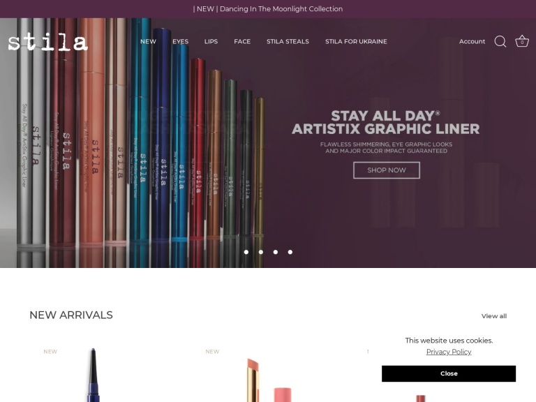 Stila Cosmetics-Stila Cosmetics-Affiliate Exclusive Sale – Extra 20% OFF All Sale Items for Up to 90% Off