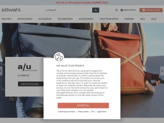 Screenshot der Website stilwahl.de