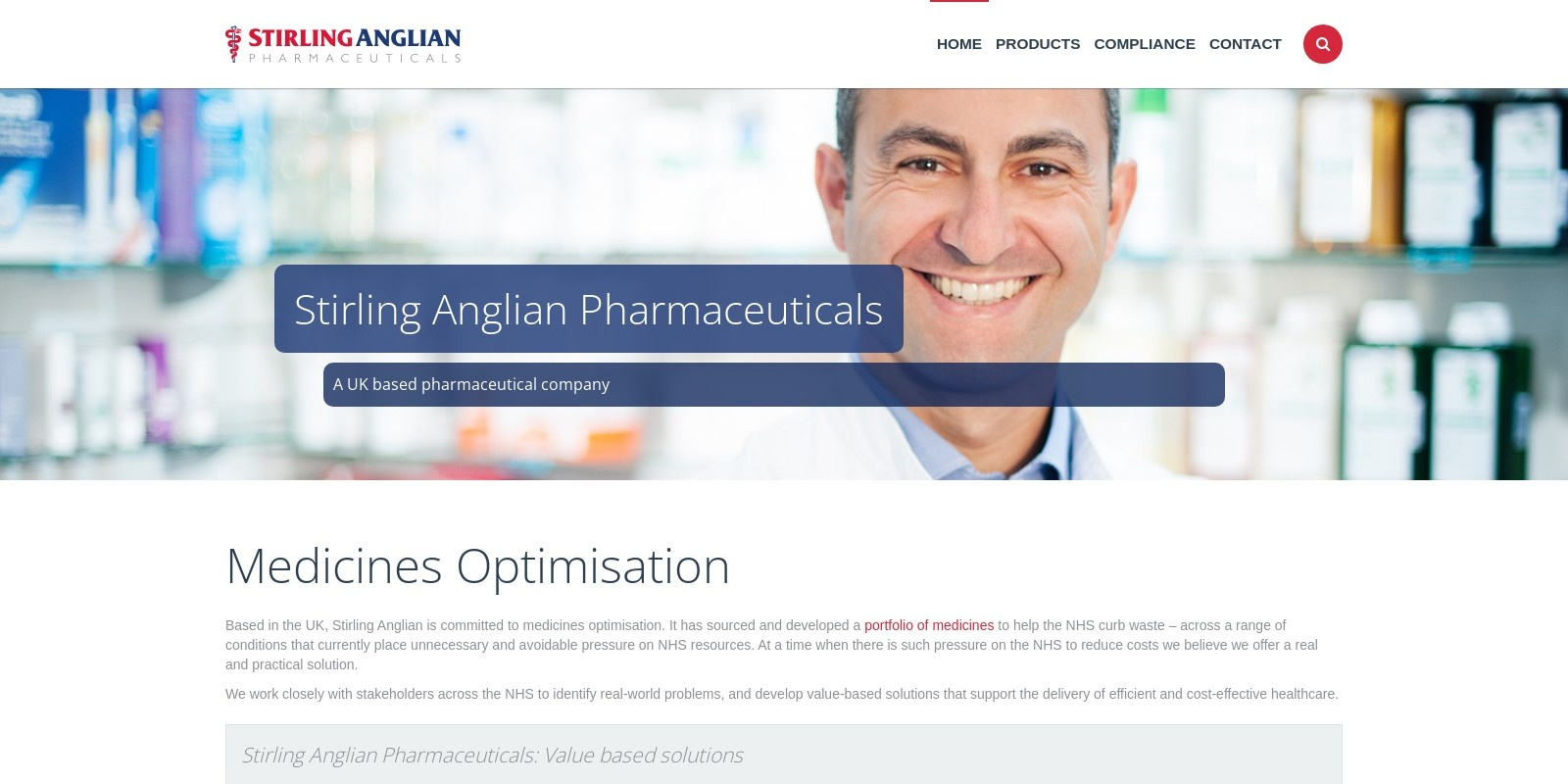 Preview of http://www.stirlinganglianpharmaceuticals.com