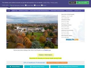 Screenshot for stjohnofgodhospital.ie