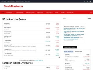 Screenshot for stockmaster.in
