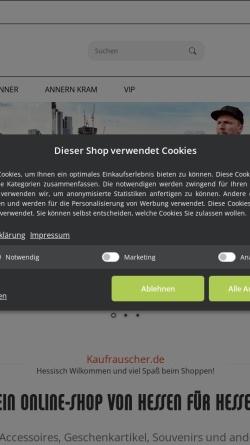Vorschau der mobilen Webseite www.stoeffche.de, Des Stöffche