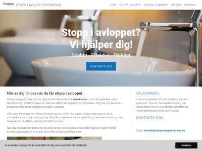 www.stoppiavloppstockholm.nu