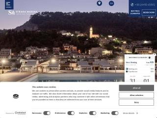 Screenshot για την ιστοσελίδα stradamarina.gr
