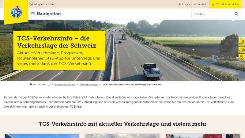 www.strasseninfo.ch Vorschau, Strasseninfo.ch