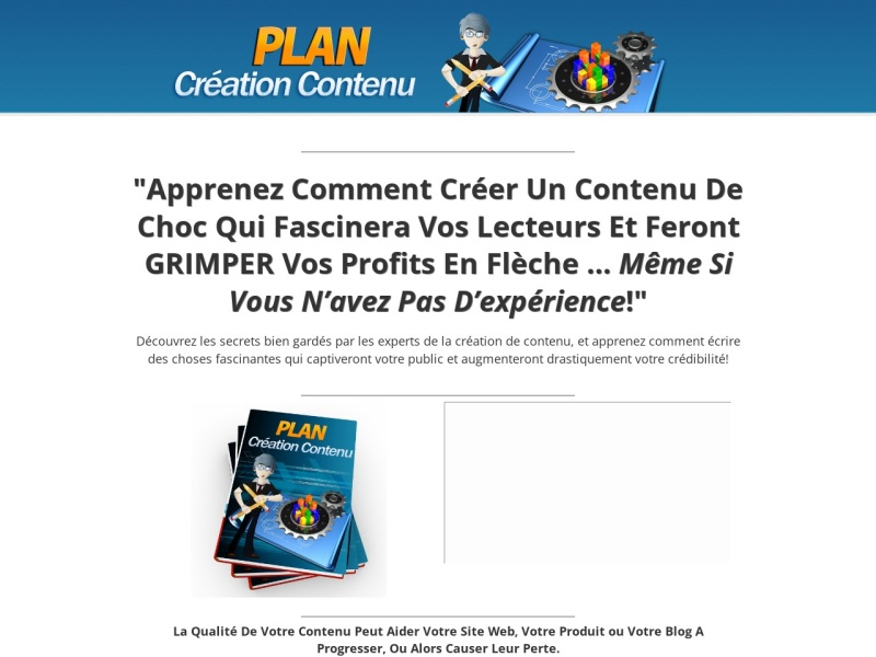 strategie creation de contenu