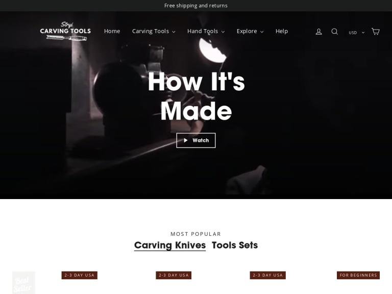 Stryi Carving Tools screenshot