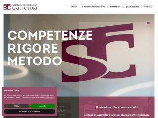 screenshot studio-cristofori.it