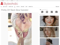 http://www.styleoholic.com/pretty-diy-back-bow-sweater/