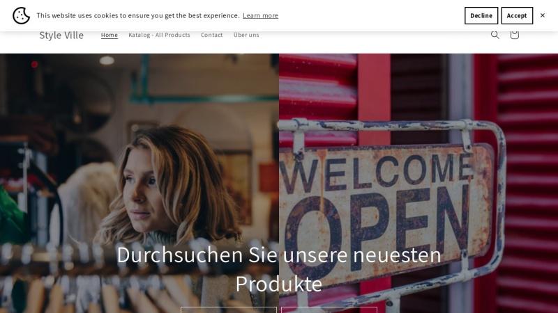 www.styleville.de Vorschau, styleville.de - Dress Unique!