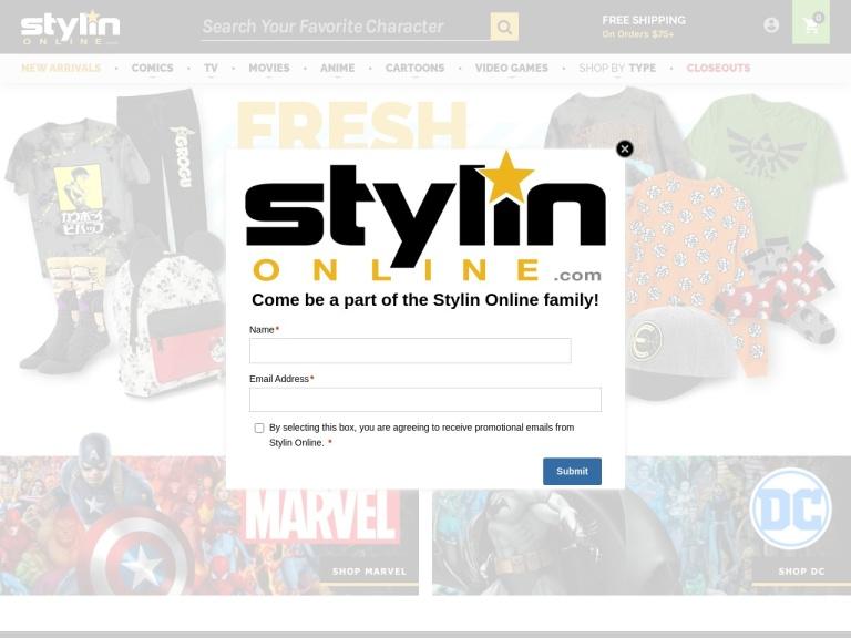 Stylinonline Coupon Codes