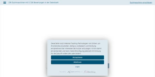 http://www.suchmaschinen-datenbank.de/