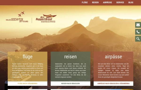 Vorschau von www.suedamerika-line.de, Südamerika-Line & LatinoBras GmbH