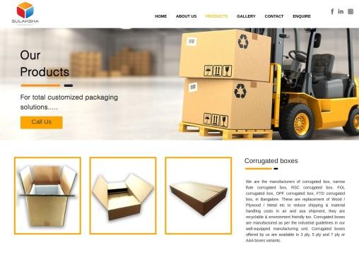 Corrugated box manufacturers in Bangalore