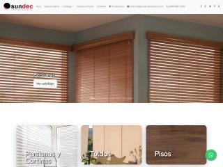 Captura de pantalla para sundecdecoracion.com