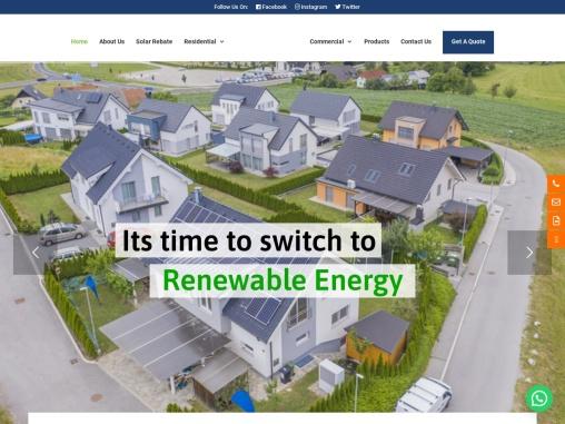 solar panels installation company
