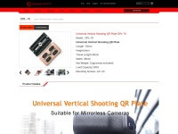 Universal Vertical Shooting QR Plate DPL-70 | SUNWAYFOTO