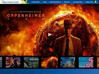 Captura de pantalla para supercines.com.ve