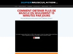 METHODE SUPERMUSCULATION - ACCES A VIE