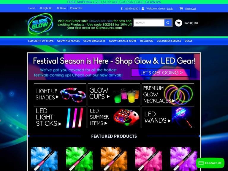 Sure Glow screenshot