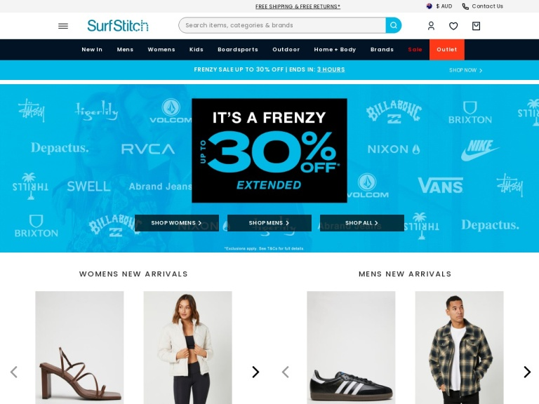 SurfStitch Coupon Codes screenshot