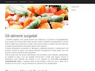 screenshot surgelatialimentari.it