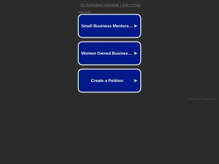 Screenshot for susanbrownmiller.com