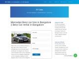 Luxury Mercedes Benz Bus hire in Bangalore || 9019944459