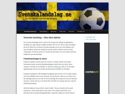 svenskalandslag.se
