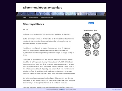 www.svenskasilvermynt.se