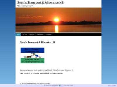 www.svenstransportallservice.n.nu