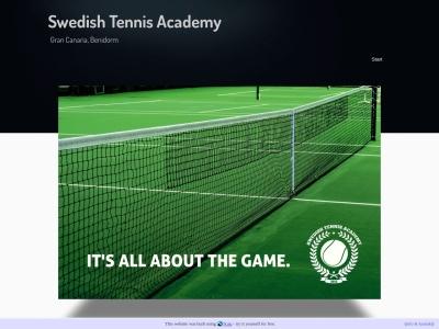 www.swedishtennisacademy.n.nu