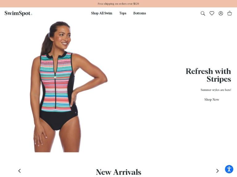 Swimspot.com - Designer Swimwear screenshot