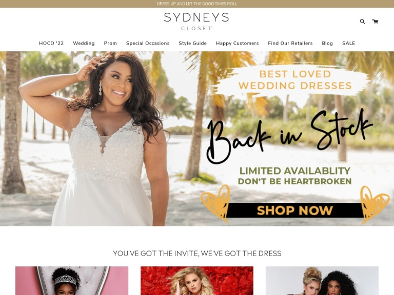 Sydney's Closet Coupon Codes