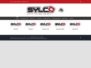 Screenshot for sylco.co.za