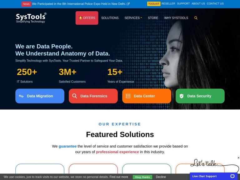 SysTools Group Coupon Codes screenshot