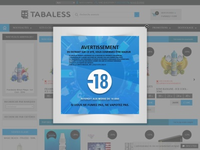 Tabaless.com : E-cigarette