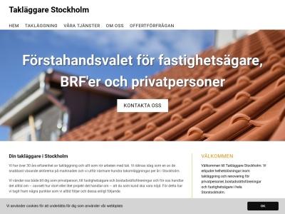 www.taklaggarestockholm.nu