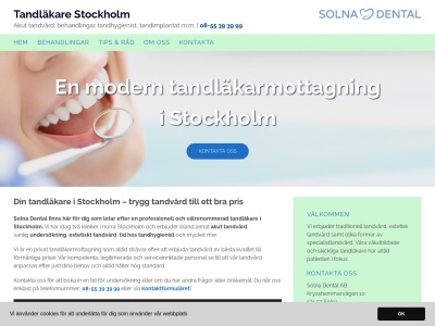 tandlakare-stockholm.nu